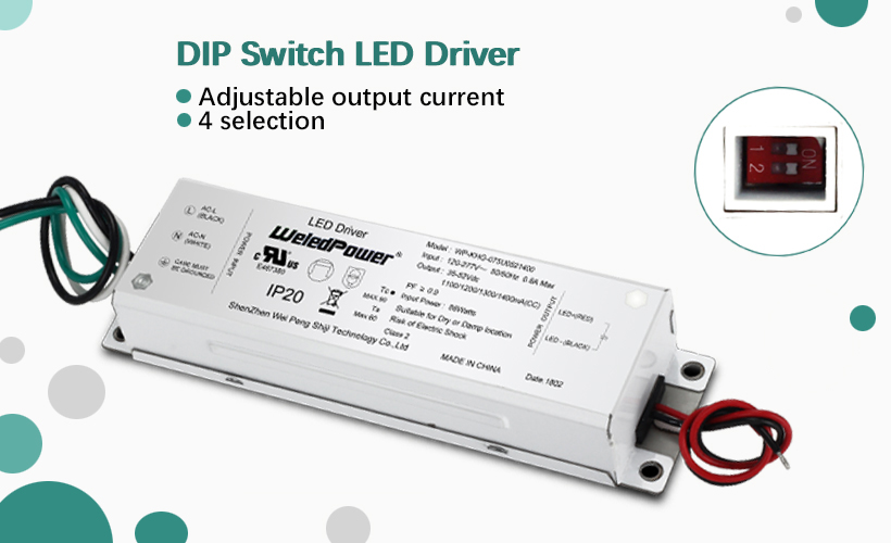 New arrival- DIP switch dimmable led driver