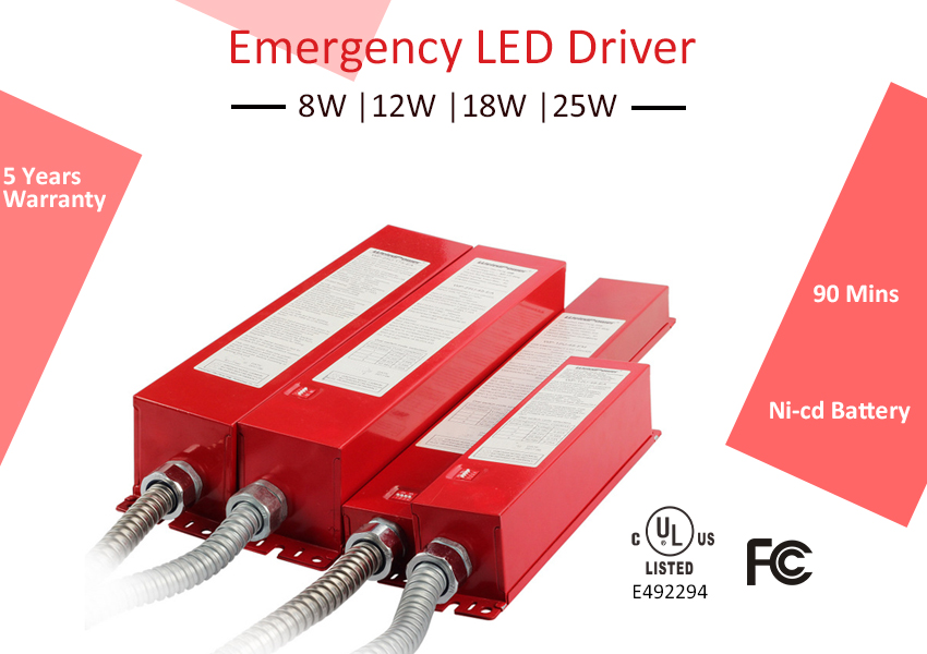 New Arrival- Emergency LED Driver