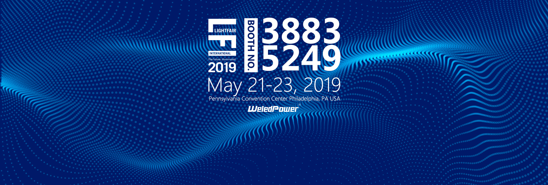 LFI2019 Light fair International, weledpower