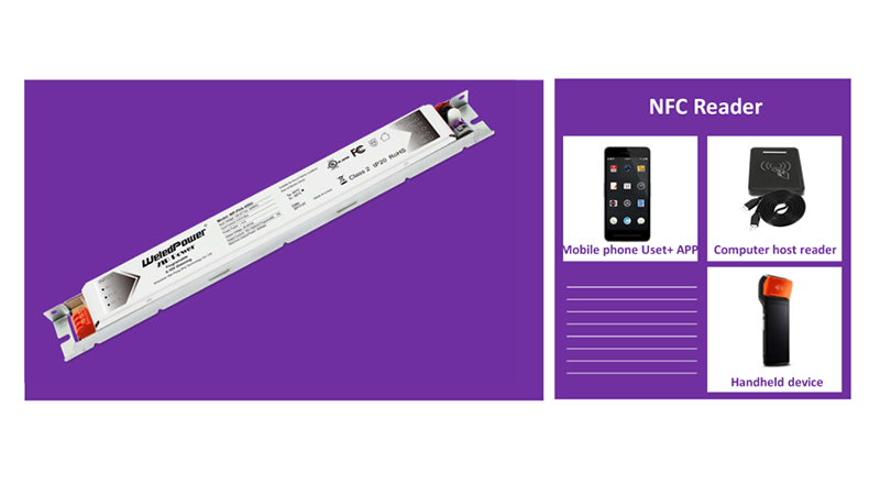 New Arrival- NFC Programmable LED drivers