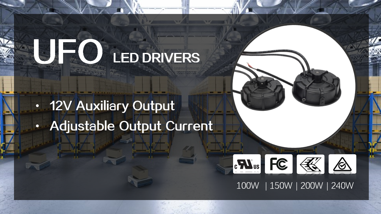 Simple Programmable UFO LED Drivers